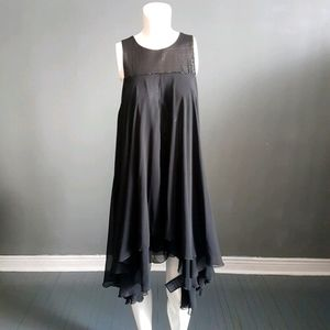 Marciano Sparkly Black Party Dress